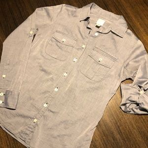 "NWOT J Crew ""The Perfect Shirt"""